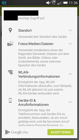 android-rechtevergabe
