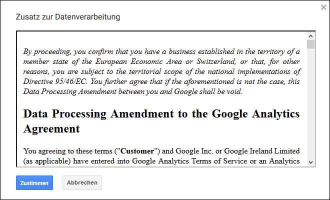 Google Analytics Ist Die Elektronische Adv Zustimmung Erlaubt